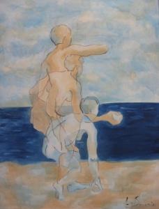 Movimiento. Frente al mar.