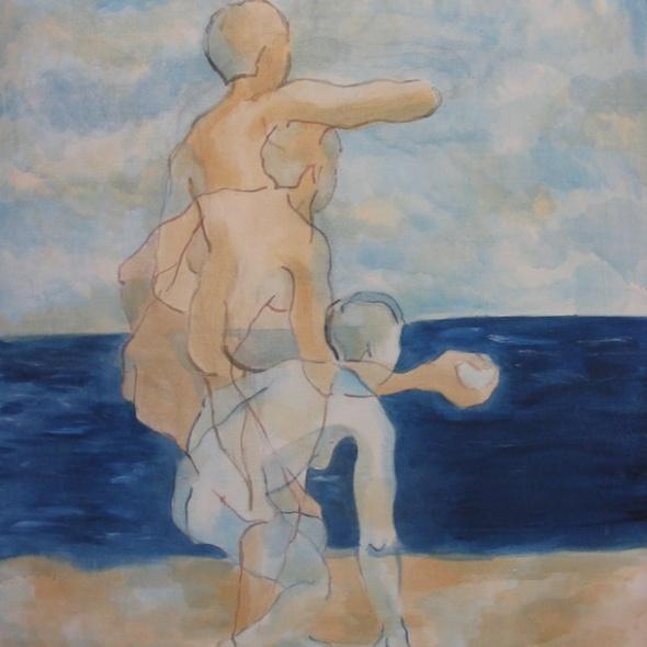 Movimiento frente al mar