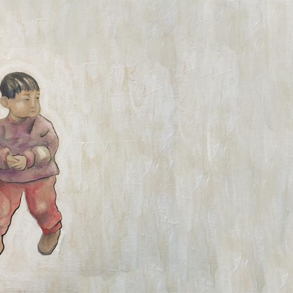 Niño en Caochangdi (Pekín)