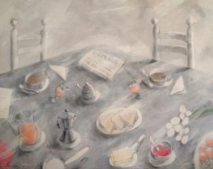 Desayuno y El Mundo
